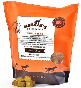 Orange bag of Kelcie's Treats | Kelcie's Treats